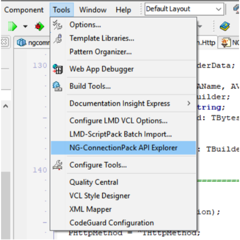 LMD Innovative  Delphi components  NG ConnectionPack